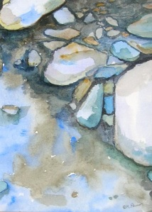 Pebbles in aStream